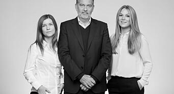 Jan-Erik Larsen med nytt firma. Nå blir også datteren Sissel med på laget