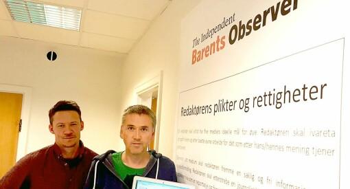 The Independent Barents Observer har vind i seilene: Får 100.000 kroner fra Innovasjon Norge