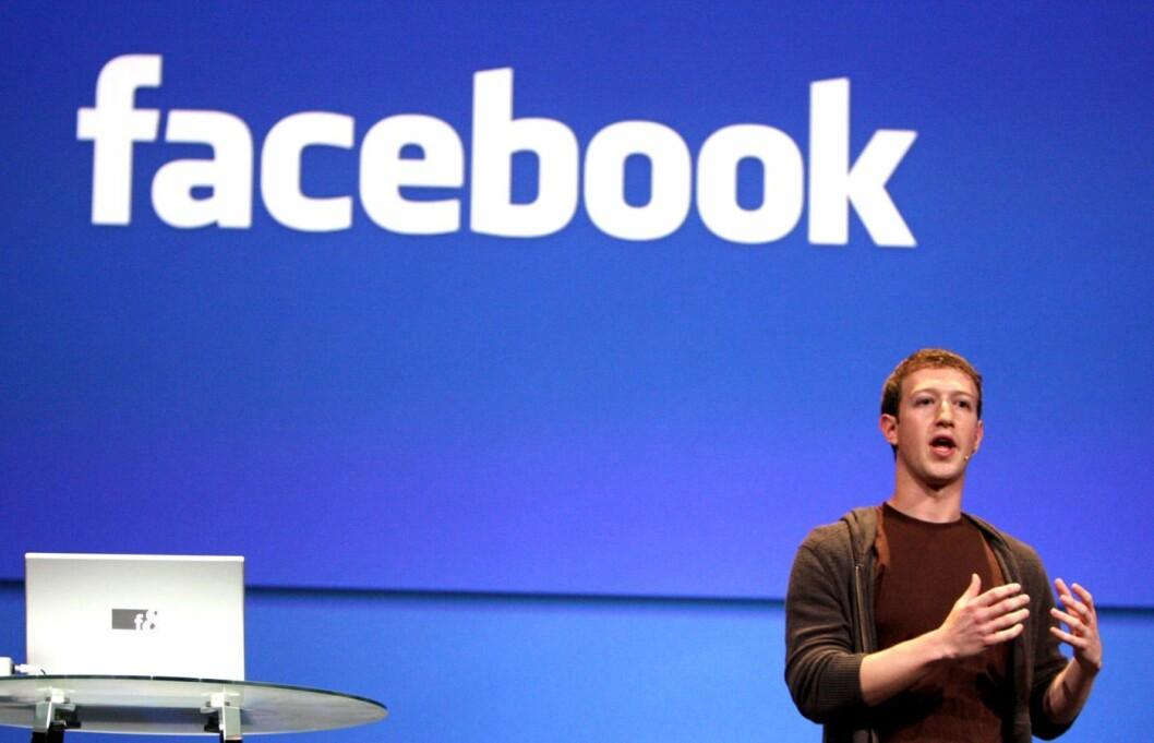 MARK ZUCKERBERG, grunnlegger av og toppsjef i Facebook. Bildet er fra en annen sammenheng.