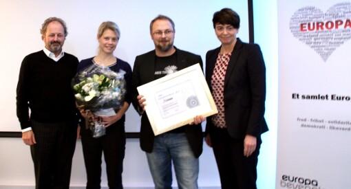 NEI-avisa Nationen får EU-pris fra JA-foreningen Europabevegelsen