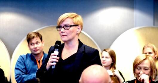 Mona Solbakk, direktør i NRK Sápmi.