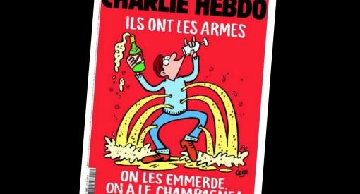 Slik slår Charlie Hebdo tilbake mot terroristene i Paris