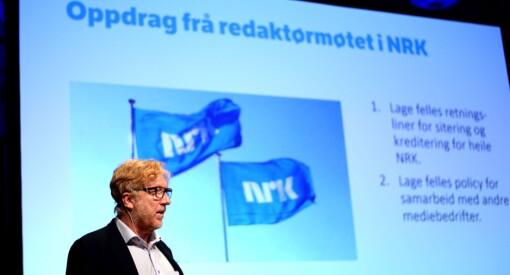NRK var ikke fornøyd med søkerlistene. Lyser ut redaktørjobber for Hordaland og Sørlandet på nytt