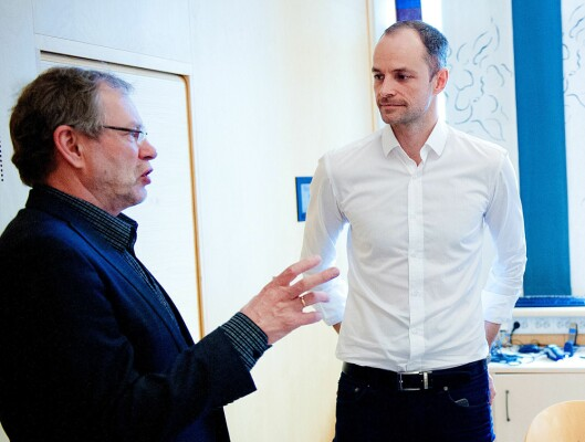 Tidligere sjefredaktør Arne Blix overlot stafettpinnen til Mørseth i 2015.