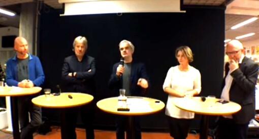 Sponset journalistikk igjen: Les mer og se opptak fra «VG-debatt» på Kristiansand bibliotek