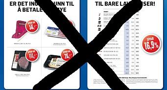 Annonse-sjokk fra Rema 1000: Stanser all avisannonsering ut året