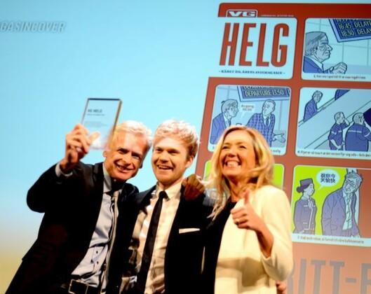 LEDER SATSINGEN: VGs MagasinPluss-redaksjon ledes av redaktør Jane Throndsen (t.h.), som blant annet har fått prisen Årets Avismagasin flere år på rad.