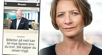 Hvis det er troverdighet pressen lever av, tror jeg Aftenposten kan tenke seg om en gang til