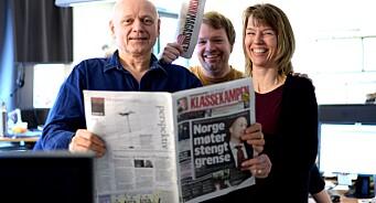 Markedssjefen rykker opp: Christian Samuelsen blir direktør i Klassekampen
