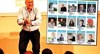 En reklamemann og Facebook-aktivist fra Stabæk er landbrukets 96. mektigste mann