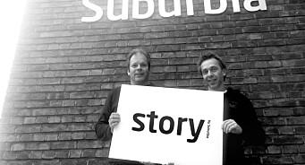 Terje Johansen og Jarl André Vethe står bak nytt byrå for retail content marketing