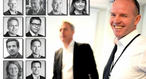 55 redaktører og direktører har sluttet i Amedia siden høsten 2012