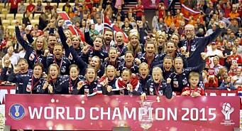 Håndball-gull ga knalltall for TV 2: 1,85 millioner var innom VM-finalen