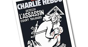 Charlie Hebdo: «Ett år senere. Morderen er fortsatt på frifot»