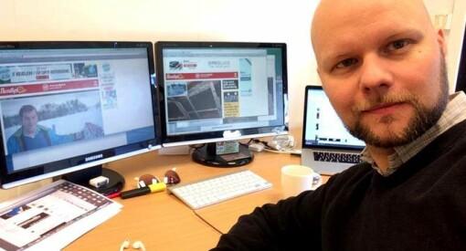 Espen Bless Stenberg flytter hjem fra Colombia og blir nyhetsleder i Avisa Nordland
