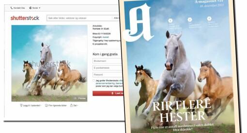 Hester til PFU: Som cover til 14 siders reportasje, brukte Aftenposten et manipulert stock-photo