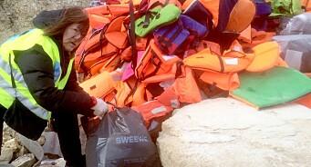 Annette Groth reiste til Hellas for å hjelpe: «De kommer ikke på gullstol, men i drittbåter som kan synke når som helst»