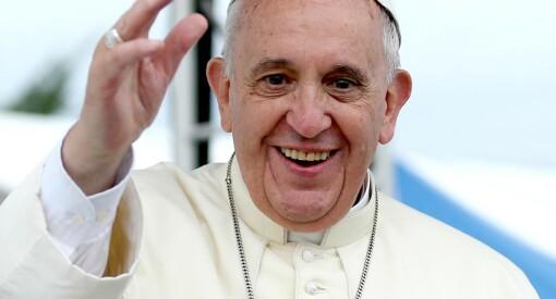 Pave Frans tar et oppgjør med netthets og troll