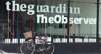 Det brenner også hos de store britene: The Guardian må kutte 1,9 milliarder kroner på tre år