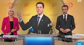 Dagsrevyen tabbet seg ut igjen: Fjernet TV 2-logo fra mikrofon på nyhetsbilde