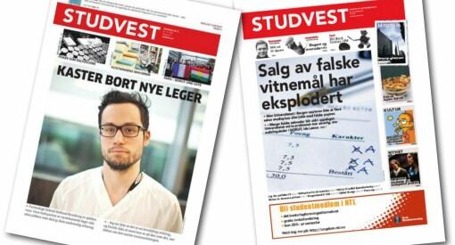 Setter studentmediene trenden? Studvest halverer antall utgivelser på papir