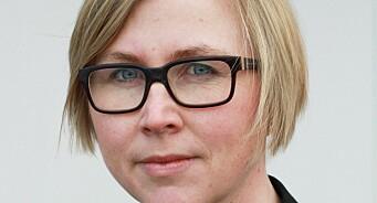 Gøril Huse fortsetter med Klar Tale. Er ansatt som publisher i lettlestavisa