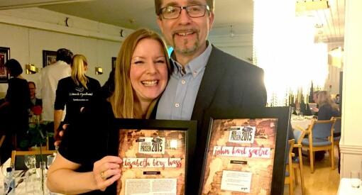 HJ-prisene: Dobbelt opp til Kvinnheringen, Elisabeth og Jonn Karl for ME-reportasjer