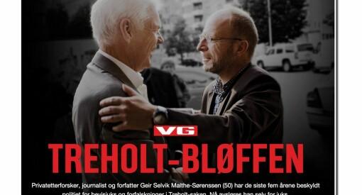 VG-avsløring får følger: NRK skal granske alt Malthe-Sørenssen har gjort for dem