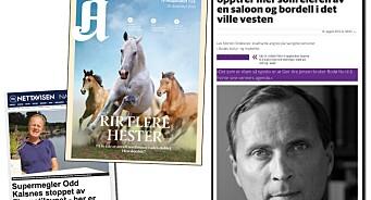 PFU-møte med Strøksnes-salver, Aftenposten-hester, Kalsnes mot Nettavisen og Eide mot TV 2