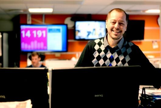 René Svendsen, ansvarlig redaktør i Fredriksstad Blad.