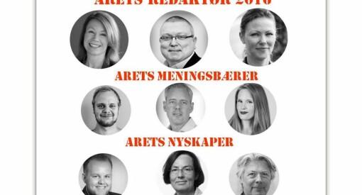 Disse kan bli Årets redaktør i Oslo og Akershus