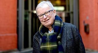 Sommeren 1975 droppet han studiene og ble journalist. I dag er Bernt Olufsens siste dag på jobb