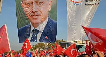 Erdogan-fornærmelser kan fortsatt havne i det tyske rettsapparatet
