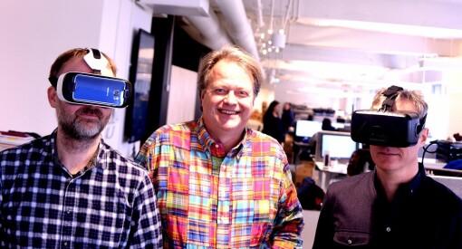 TU får millionstøtte fra Google til VR-innovasjon. Og snart går de live på Facebook Instant Articles