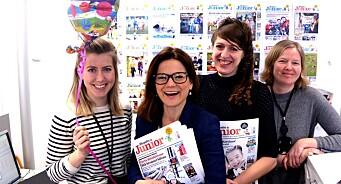 De lager avisa som øker mest akkurat nå: Aftenposten Junior har passert 25.000 i opplag