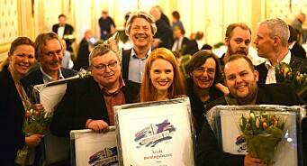 Her er Årets Oslo-redaktører: Ole Petter Pedersen, Susanne Kaluza og Gard Michalsen