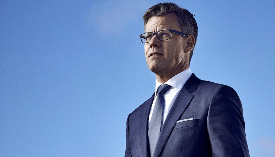 Steffen Kragh, administrerende direktør og konsernsjef i Egmont.