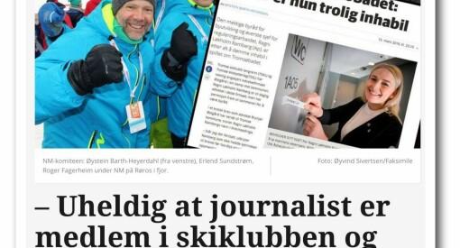 Skiklubbens egen pressesjef var journalist om klubbens konflikt med kommunen