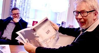 Etter 18 år som redaktør for den sterke lokalavisa, gir Bjarne Tormodsgard seg i Hallingdølen