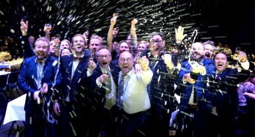 Dagbladet tok SKUP-prisen for tredje år på rad. Se bilder, video, reaksjoner og ettertanke