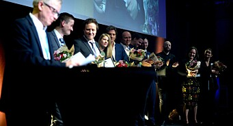 SKUP-diplomer til BT, Adressa, DN og NRK. Se bilder og les juryens begrunnelser her