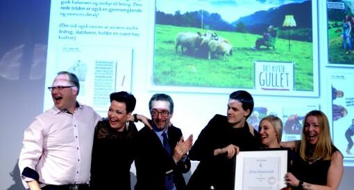 Kvinnheringen vant Årets avisside for tredje år på rad!