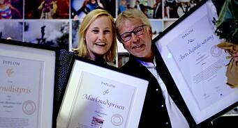 Trippelfredag for Hallingdølen på LLA! Digitalpris, markedspris - og journalistpris til Torunn Lied