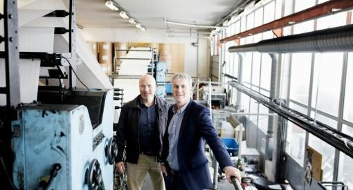 Haugesunds avis skal ikke lenger trykkes av Schibsted i Bergen, men hos Bladet Sunnhordland på Stord