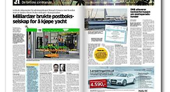 Når Aftenposten koker suppe på Panama Papers, og stigmatiserer et åpent og lovlig båtkjøp