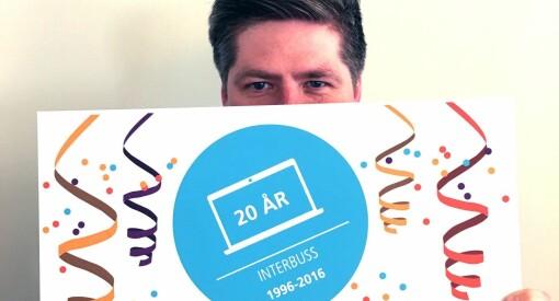 TV: Torsdag feirer TNS 20 år med Interbuss-måling. Se foredrag og debatt om norske nettvaner