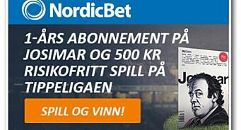 Lotteritilsynet anklager Josimar for ulovlig samarbeid med NordicBet