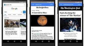 Google og Facebook tvinger fram bedre brukeropplevelser. Da kan vi ikke bli akterutseilt
