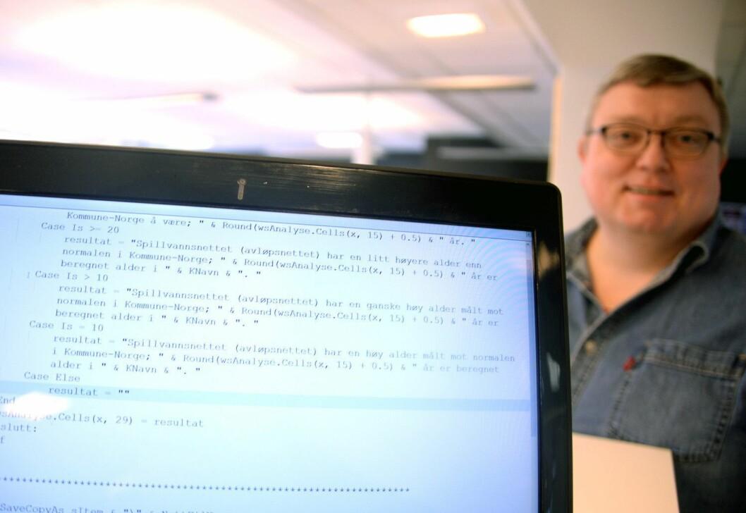 Er vi digitale nok? Nyhetsredaktør Ole Petter Pedersen - her i forbindelse med «Kommunebarometeret» i 2016.