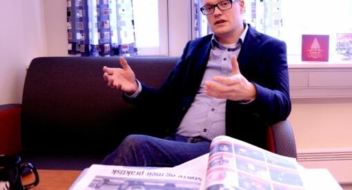 Christian Senning Andersen blir sjefredaktør og direktør i Fremover